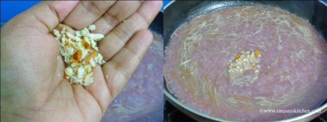 steps to make pomegranate payasam