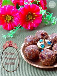 Dates Peanut laddu