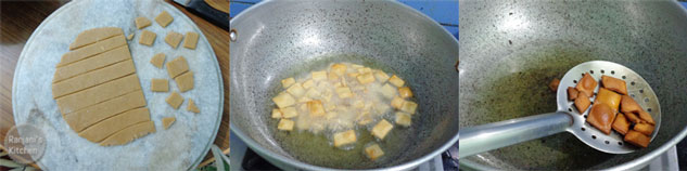 preparation of gur para