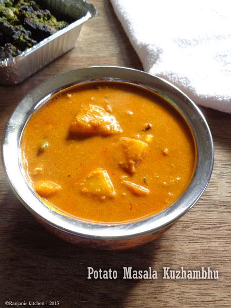 Potato Masala Kuzhambhu