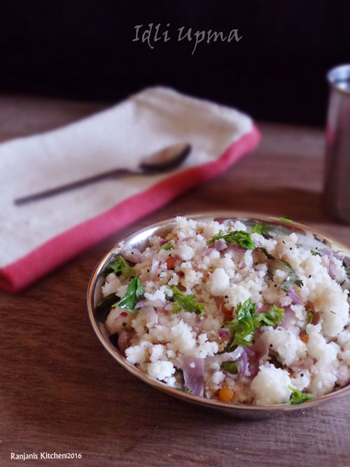 how to make south indian upma