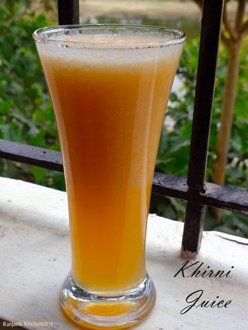 khirni-juice
