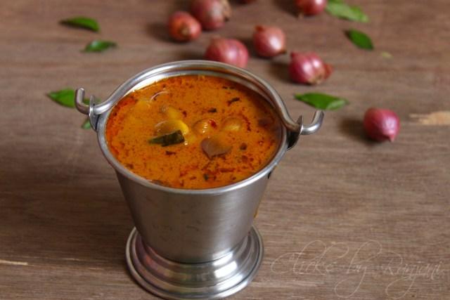 Vengaya kuzhambhu recipe