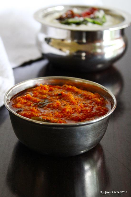 Thakkali Thokku recipe | side dish recipes