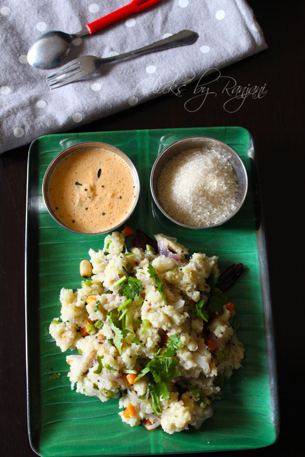 Rava Upma Recipe | Breakfast recipes