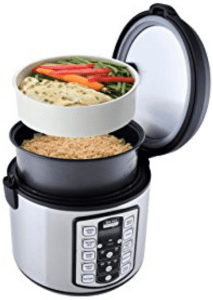 aroma housewares 20 cup rice cooked