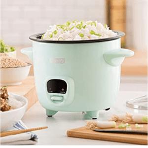 Dash mini rice cooker 2 cups