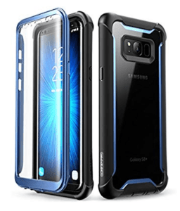 iBlason rugged clear bumper for S8 plus
