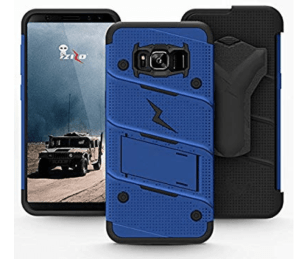 Zizo bolt case military drop tested for samsung s8 plus