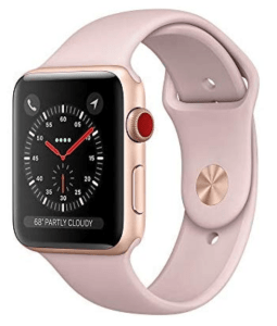 apple watch series 3 rose gold