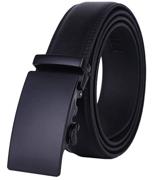 Lavemi men leather belt buckle type
