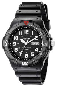 casio mens dive watch