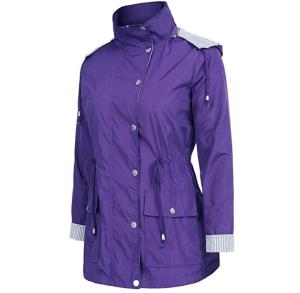 uuang women rain jacket