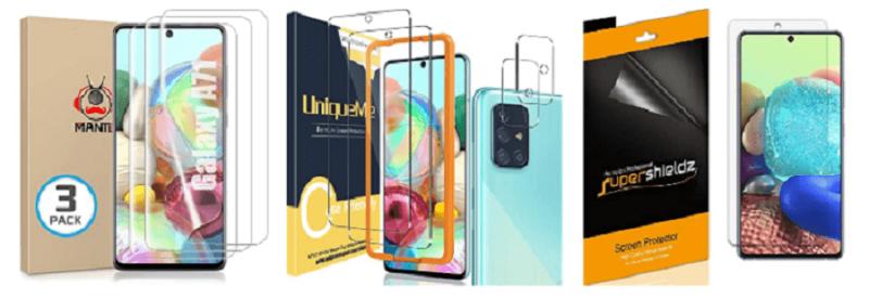 Galaxy A71 Best Screen Protectors