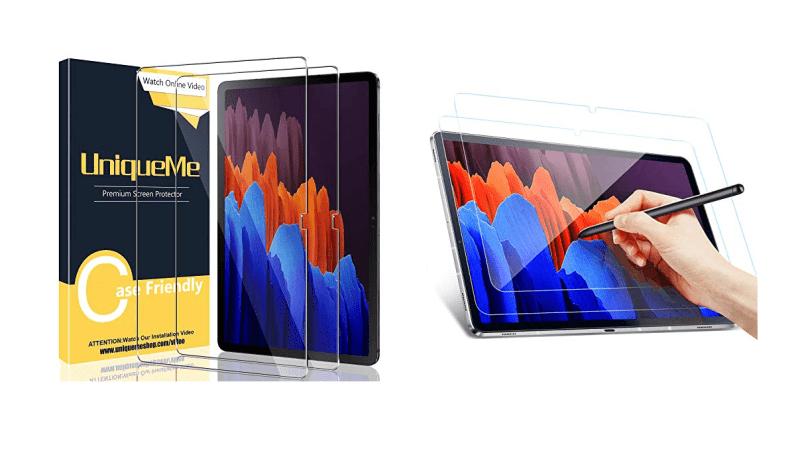 Galaxy Tab S7+ plus: Best Screen Protectors in Canada