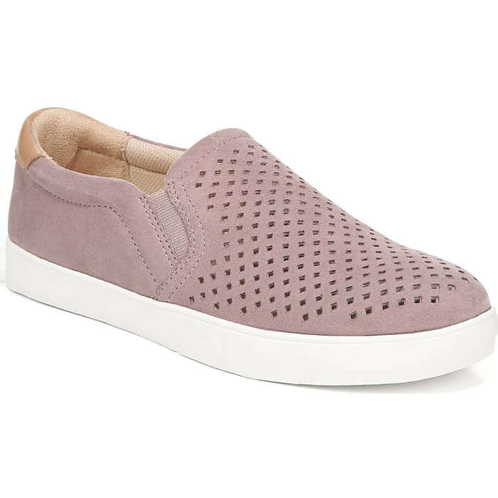 Womens Laceless Slip On Sneakers