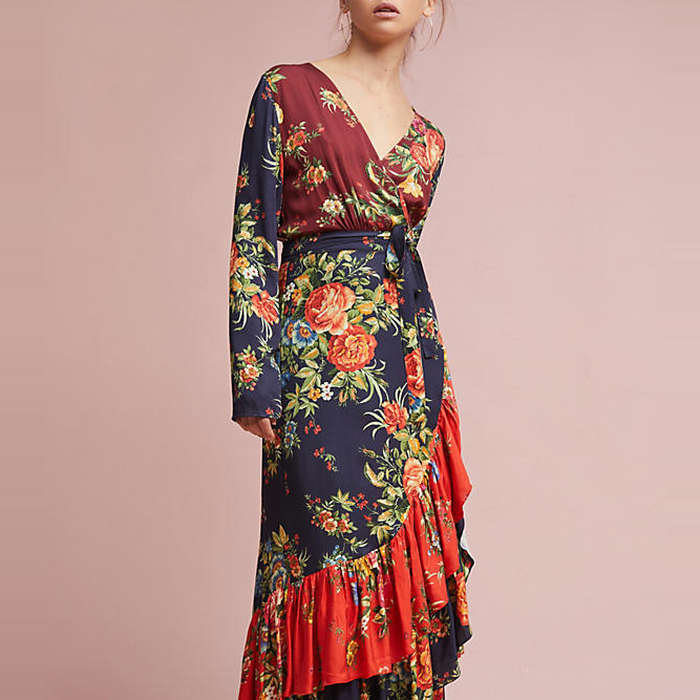 makeup chairs desk chair mat for high pile carpet farm rio audrey wrap dress | rank & style