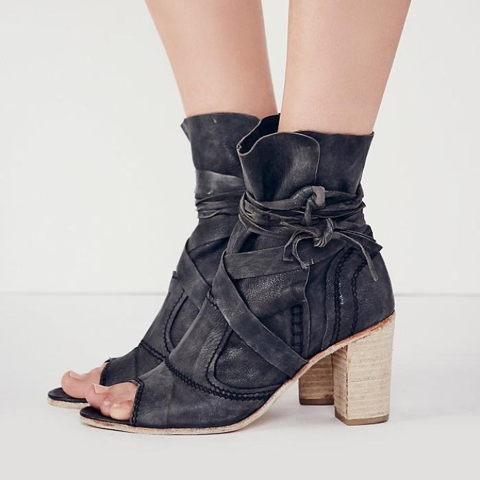 Bridal Bootie Shoes