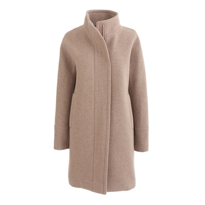 JCrew Stadium Cloth Cocoon Coat Rank Amp Style