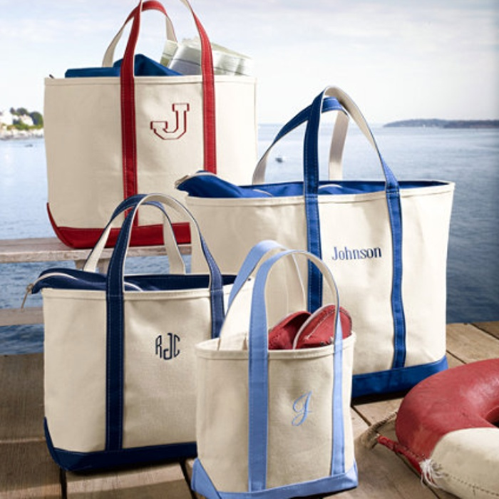 LLBean Boat and Tote Bag with ZipTop  Rank  Style