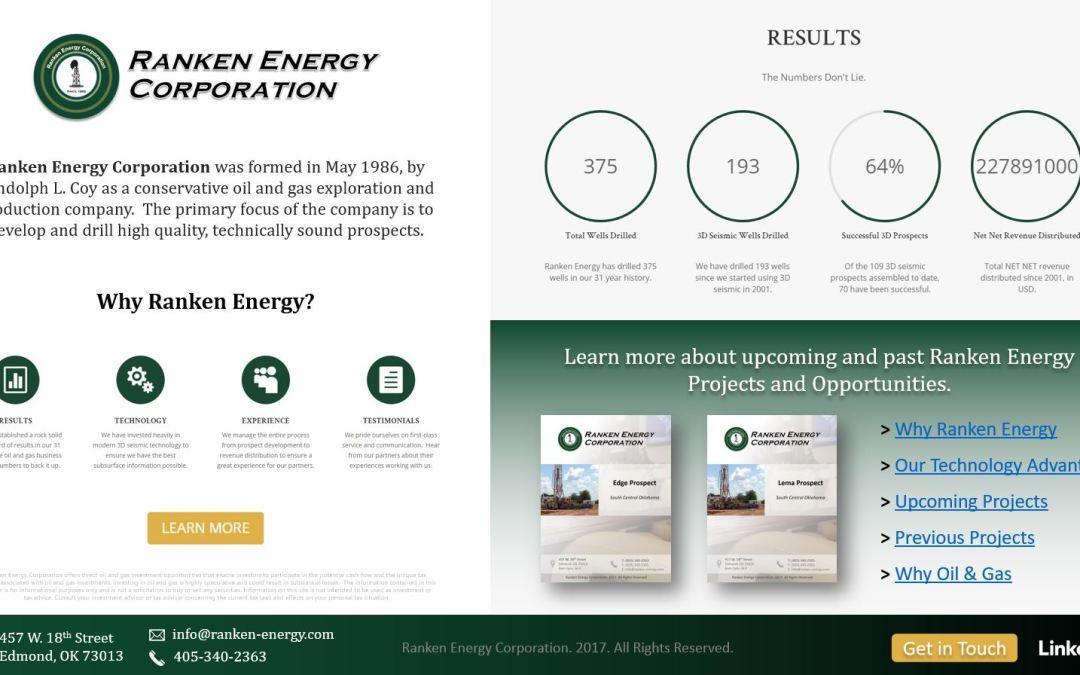Ranken Energy Corporation Marketing Handout