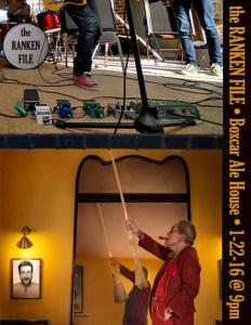 BoxCar 0116 Ranken File Seattle Rock Band Poster