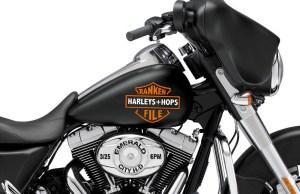 Harleys & Hops Ranken File Seattle Rock Band Poster