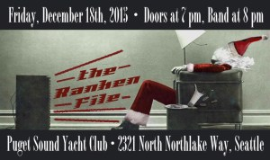 Holiday Party 2015 Ranken File Seattle Rock Band Poster