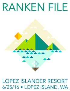Ranken File Seattle Rock Band Lopez Island Poster