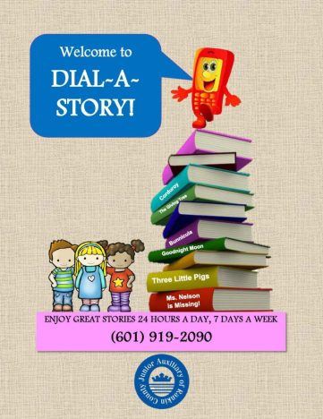 New Dial A Story Flyer-front