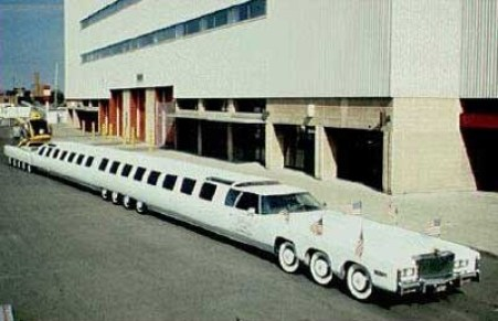 Longest limo in the world