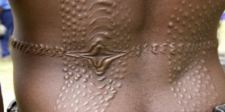 Scarification - Most Bizarre Religious Traditions and Taboo