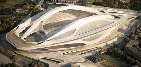 Tokyo New National Stadium