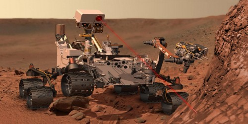 Curiosity Rover robot