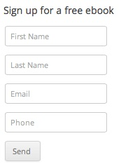 Easy Sign Up