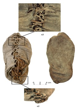 Oldest Shoe - 5500 years old