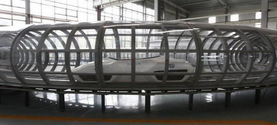 Super-Maglev Train