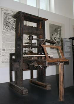 Printing Press - Inventions of the Middle Ages