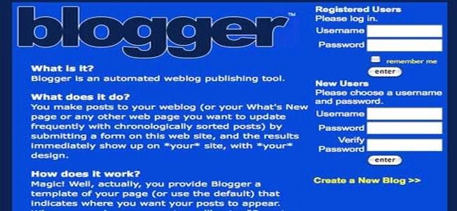 blogger 1999