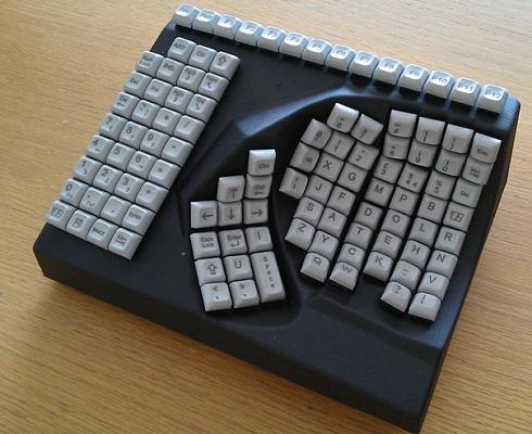 single hand keyboard