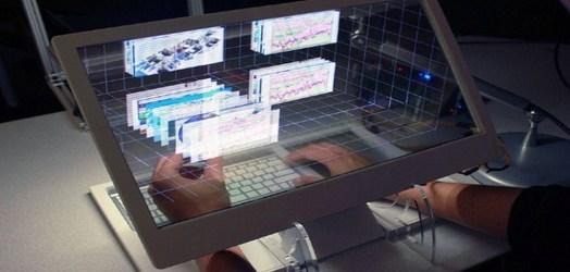 See-through 3d Display