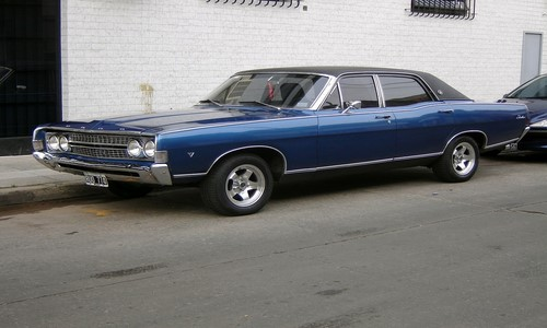 1967 Ford Fairlane 500 R-Code