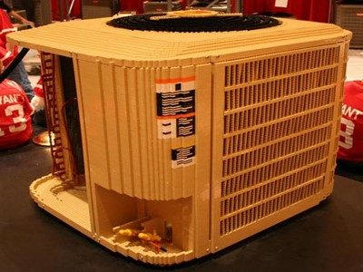 Air Conditioner made of lego