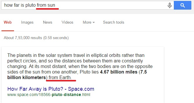 how far is pluto from sun