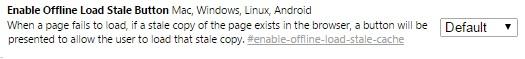 Enable Offline Browsing