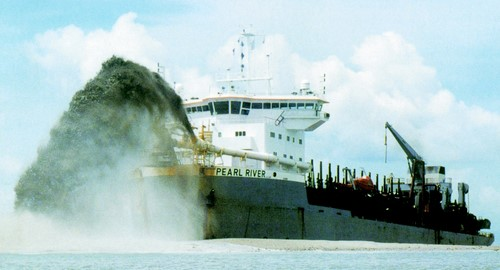 Jumbo Hopper Dredger - heavy machines