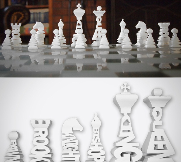 Typographical Chess
