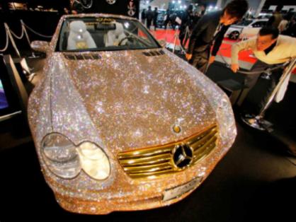 Diamond Encrypted Mercedes
