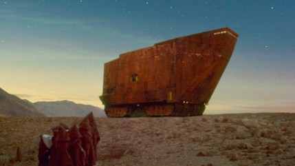 Moving Sand Crawler