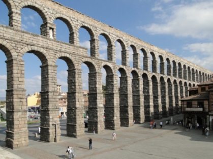 Roman Gravity Aqueducts